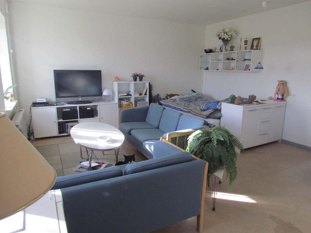 1 værelses lejlighed